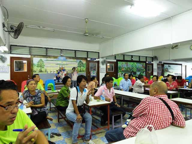 ประชุมสาย 1 และชุมชนรอบมหาลัย 1 ก.ค.55
