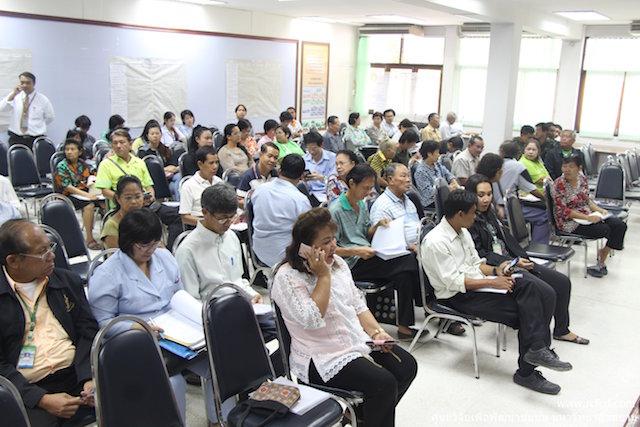 ประชุมเตรียม 7 ประเด็น สำนักงานเขตภาษีเจริญ
